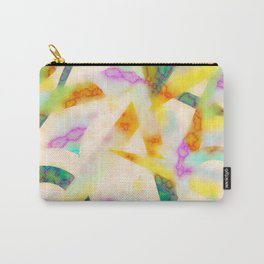 Fading Into Yellow Carry-All Pouch