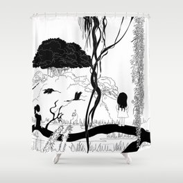 Another safe place Shower Curtain