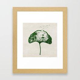 Love on the Lake Framed Art Print