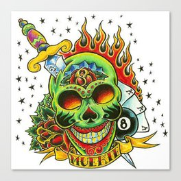 Tatto Art 3  Canvas Print