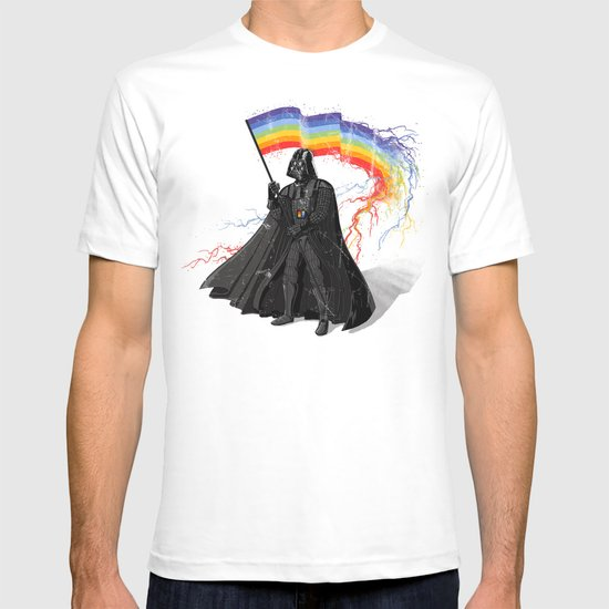 The Rainbow Side of the Force T-shirt