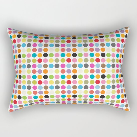 color pattern 6 Rectangular Pillow