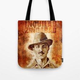 Shaheed-E-Azam Bhagat Singh Tote Bag
