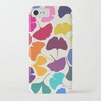 camus iPhone & iPod Cases featuring Ginkgo Multicolor by Garima Dhawan