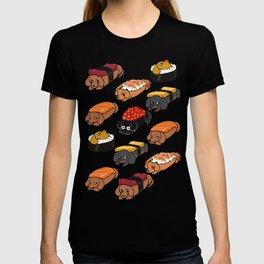 Sushi Daschunds T-shirt