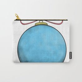 blue christmas ball Carry-All Pouch