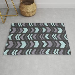 Mixed Chevron Rug