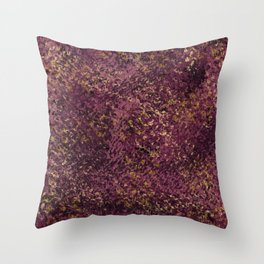 wine moon Throw Pillow