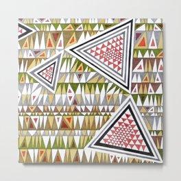 Tetris n. 7 Metal Print