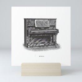 Kimball Piano 08 Mini Art Print