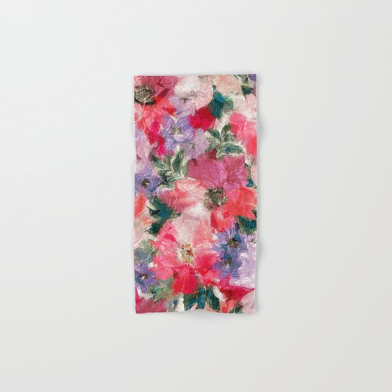 Slendid Flowers 2 Hand & Bath Towel