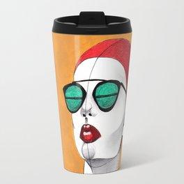 Stripe Swimmer Travel Mug