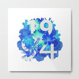Blue Flower 1994 Metal Print
