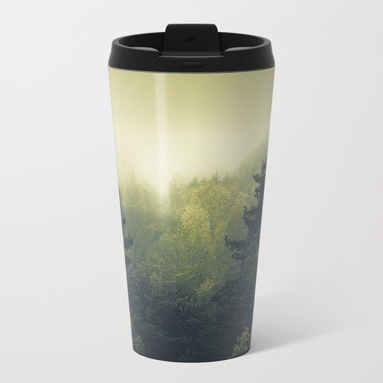 Forests never sleep Metal Travel Mug