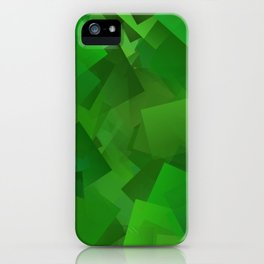 Cubed grass ... iPhone Case