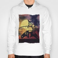 catwoman Hoodies featuring catwoman by Ancello