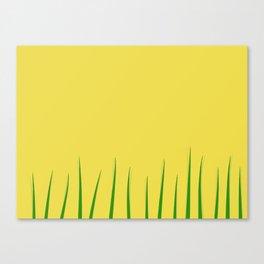 Grass ... Canvas Print