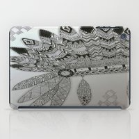 headdress iPad Cases featuring Indian headdress by JZ Artistic Creations
