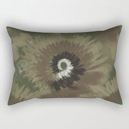 Camo Tie Dye Rectangular Pillow