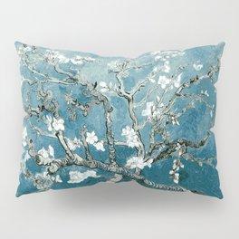 Vincent Van Gogh Almond Blossoms Teal Pillow Sham
