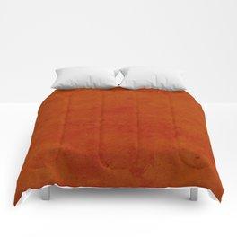 concrete orange brown copper plain texture Comforters