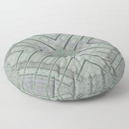 Refreshing Mint Green Tea Maze Floor Pillow