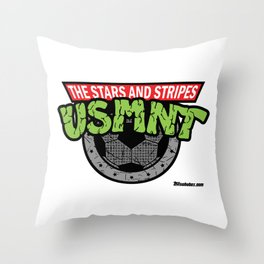 USMNT -- A FEARSOME SOCCER TEAM Throw Pillow