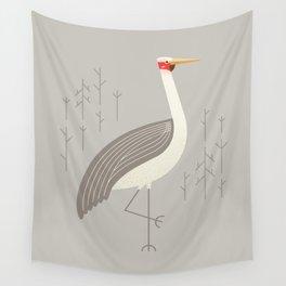 Brolga, Bird of Australia Wall Tapestry