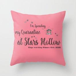 At Stars Hollow-Gilmore Girls. Throw Pillow