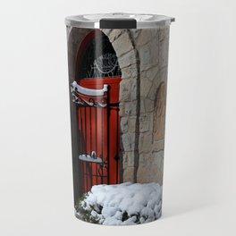 Portiuncula Chapel Doors Travel Mug