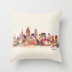 cincinnati ohio  Throw Pillow