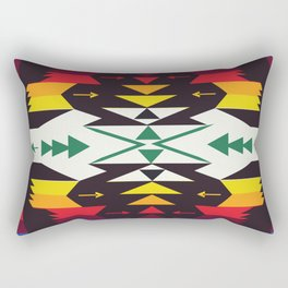 American Native Pattern No. 129 Rectangular Pillow