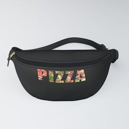 Pizza Lettering Fanny Pack