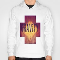 gravity Hoodies featuring Gravity by Skye Rao