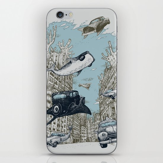 The Streets of Atlantis iPhone & iPod Skin
