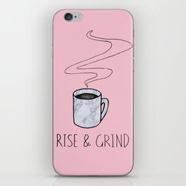 Rise & Grind iPhone Skin