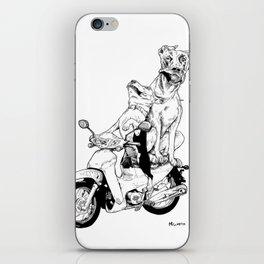 Ajeossi Dogs on a Daelim iPhone Skin