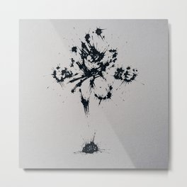 Splaaash Series - Go Goku Ink Metal Print