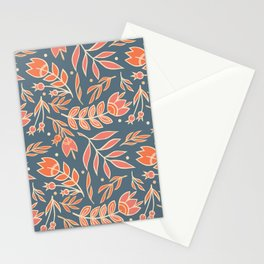 Loquacious Floral Stationery Cards