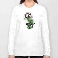 demon Long Sleeve T-shirts featuring DEMON by ASHES