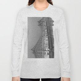 Albert Bridge London Digital Art Long Sleeve T-shirt