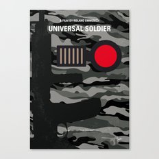 No523 My Universal Soldier minimal movie poster Canvas Print