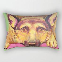 Ava Dog Rectangular Pillow