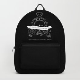 """Living is a problem because everything dies"" - part II - Biffy Clyro Backpack"