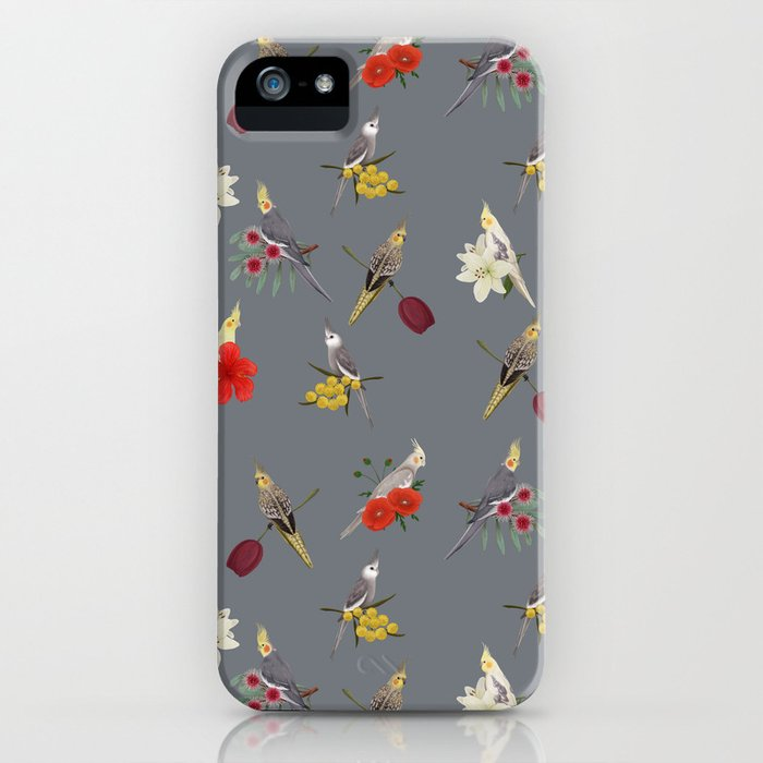 Cockatiels Galore iPhone Case