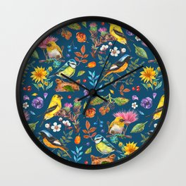 Birds Nature - BBG Wall Clock