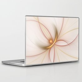 Nobly In Gold And Copper, Fractal Art Laptop & iPad Skin