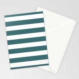 Ming Horizontal Stripes   Beautiful Interior Design Stationery Cards