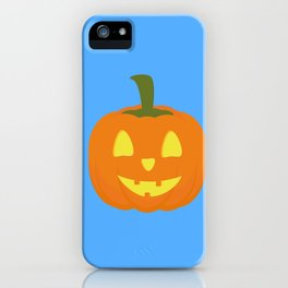 Classic light Halloween Pumpkin iPhone Case