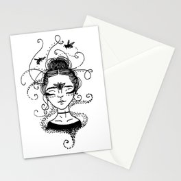 Queen B Stationery Cards